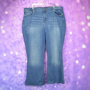Old Navy High Rise Flare Jeans Size 20